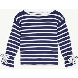 Abbigliamento Bambina Maglioni Twin Set GS83BA 1 Maglia Bambina Bianco Bianco