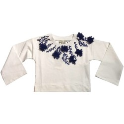 Abbigliamento Bambina Felpe Twin Set GS82JA Felpa Bambina Bianco Bianco