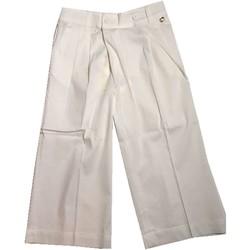 Abbigliamento Bambino Pantaloni morbidi / Pantaloni alla zuava Twin Set Girl Junior GS82QQ 1 Pantaloni Bambina Bianco Bianco