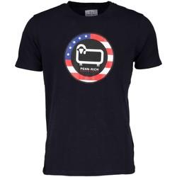 Abbigliamento Uomo T-shirt maniche corte Woolrich Penn Rich WYTEE0406 T-shirt Uomo Blu Blu