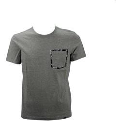 Abbigliamento Uomo T-shirt maniche corte Woolrich WOTEE1129 T-shirt Uomo Grigio Grigio
