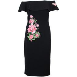 Abbigliamento Donna Abiti corti Desigual DESIGUAL VESTITO DONNA 18SWVWAWBLACK          NERO