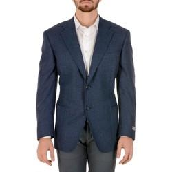 Abbigliamento Uomo Giacche / Blazer Canali CANALI BLAZER UOMO CF00115301          BLU