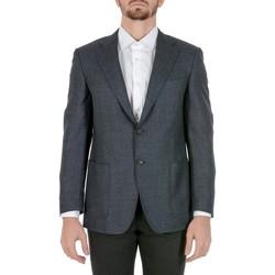 Abbigliamento Uomo Giacche / Blazer Canali CANALI BLAZER UOMO N22880156R          GRIGIO