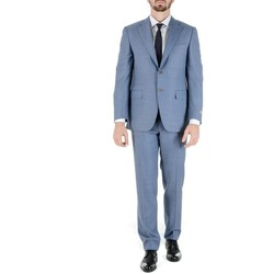 Abbigliamento Uomo Completi Canali CANALI ABITO UOMO W13012411128019          AZZURRO