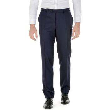 Abbigliamento Uomo Pantaloni Canali CANALI PANTALONI UOMO AN00019303          BLU