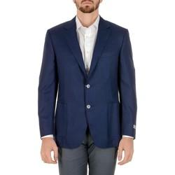 Abbigliamento Uomo Giacche / Blazer Canali CANALI BLAZER UOMO CU00247310          BLU