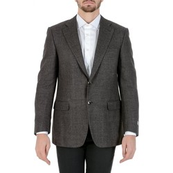 Abbigliamento Uomo Giacche / Blazer Canali CANALI BLAZER UOMO M28076112806R          GRIGIO