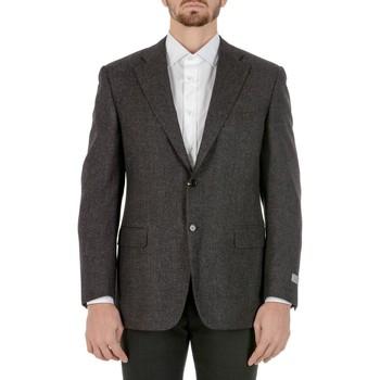 Abbigliamento Uomo Giacche / Blazer Canali CANALI BLAZER UOMO M28075112806R          GRIGIO