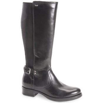 Scarpe Donna Stivali Valleverde stivale Jennifer 49531 scarpe pelle donna nero elasticizzato