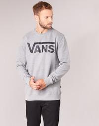 Abbigliamento Uomo Felpe Vans VANS CLASSIC CREW Grigio