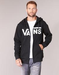 Abbigliamento Uomo Felpe Vans VANS CLASSIC ZIP HOODIE Nero