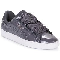 Scarpe Donna Sneakers basse Puma WN BASKET HEART PATENT.IRO Ferro
