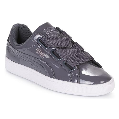 Puma WN BASKET HEART PATENT.IRO Ferro  Scarpe Sneakers basse Donna 100