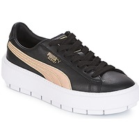 Scarpe Donna Sneakers basse Puma WN PLATFORM TRACE BSQT.BLK Black