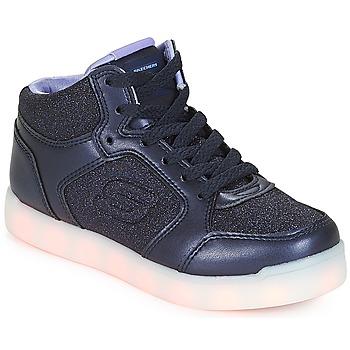 Scarpe Bambina Sneakers alte Skechers ENERGY LIGHTS Navy