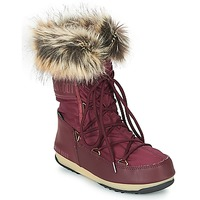 Scarpe Donna Stivali da neve Moon Boot MONACO LOW WP Bordeaux