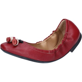 Scarpe Donna Ballerine Bally Shoes BY33 Rosso