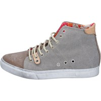 Scarpe Uomo Sneakers Nyon scarpe uomo  sneakers beige tessuto camoscio BY86 beige