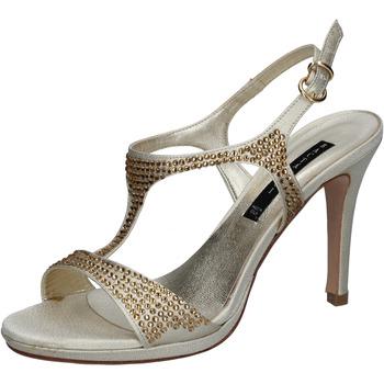 Scarpe Donna Sandali Bacta De Toi sandali platino raso strass BY95 Altri
