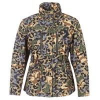 Abbigliamento Donna Parka Converse CONVERSE UTILITY F2 JACKET Kaki / Beige / Blu