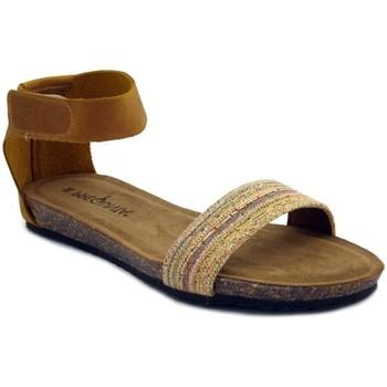 Scarpe Donna Sandali Pregunta sandalo giallo ocra