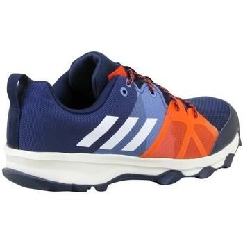 Scarpe Unisex bambino Sneakers basse adidas Originals Kanadia 81 K Arancione, Blu marino