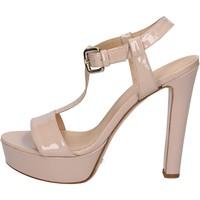 Scarpe Donna Sandali Mi Amor scarpe donna  sandali rosa cipria vernice BY169 Rosa