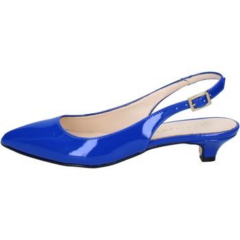 Scarpe Donna Sandali Olga Rubini sandali blu vernice BY278 blu
