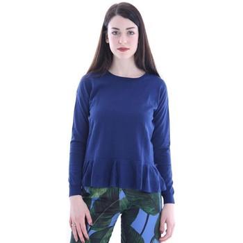 Abbigliamento Donna T-shirt & Polo Altea MAGLIA BLUETTE A MANICHE LUNGHE Blue