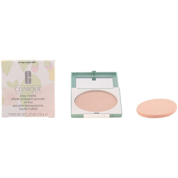 Bellezza Donna Fondotinta & primer Clinique Stay Matte Sheer Powder 02-stay Neutral 7.6 Gr 7,6 g