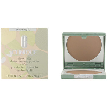 Bellezza Donna Fondotinta & primer Clinique Stay Matte Sheer Powder 04-stay Honey 7.6 Gr 7,6 g