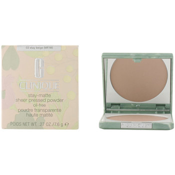 Bellezza Donna Fondotinta & primer Clinique Stay Matte Sheer Powder 03-stay Beige 7.6 Gr 7,6 g