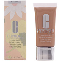 Bellezza Donna Fondotinta & primer Clinique Stay-matte Oil-free Makeup 09-neutral  30 ml