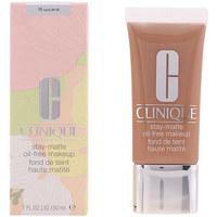 Bellezza Donna Fondotinta & primer Clinique Stay-matte Oil-free Makeup 19-sand  30 ml