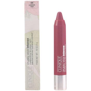 Bellezza Donna Trattamento e primer labbra Clinique Chubby Stick Intense 06-roomiest Rose 3 Gr 3 g