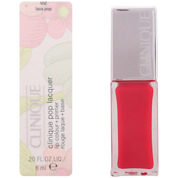 Bellezza Donna Rossetti Clinique Pop Lacquer Lip Colour + Primer 02-lava Pop  6 ml