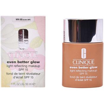Bellezza Donna Fondotinta & primer Clinique Even Better Glow Light Reflecting Makeup Spf15 brulée
