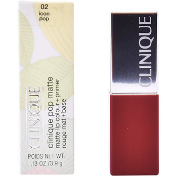 Bellezza Donna Rossetti Clinique Pop Matte Lip Color + Primer 02-icon Pop 3,9 Gr 3,9 g
