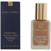 Bellezza Donna Fondotinta & primer Estee Lauder Double Wear Fluid Spf10 04-pebble  30 ml