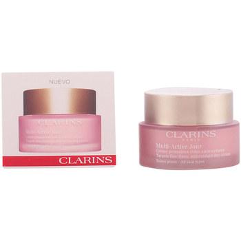 Bellezza Donna Idratanti e nutrienti Clarins Multi-active Crème Jour Toutes Peaux  50 ml