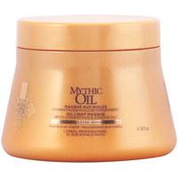Bellezza Maschere &Balsamo L'oréal Mythic Oil Light Mask normal To Fine Hair L'Oreal Expert Profe
