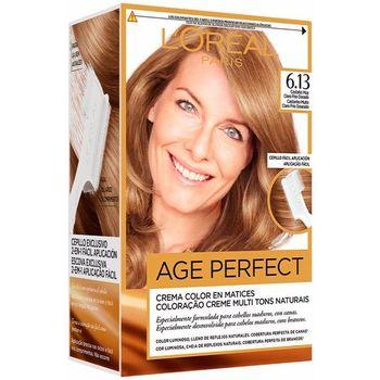 Bellezza Tinta L'oréal Excellence Age Perfect Tinte 6,13 Castaño Claro Frío Dorado 1