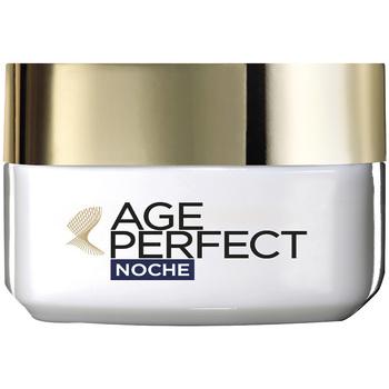 Bellezza Donna Antietà & Antirughe L'oréal Age Perfect Crema Noche  50 ml