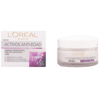Bellezza Donna Antietà & Antirughe L'oréal Anti-arrugas Expert Calcio +55 Crema  50 ml