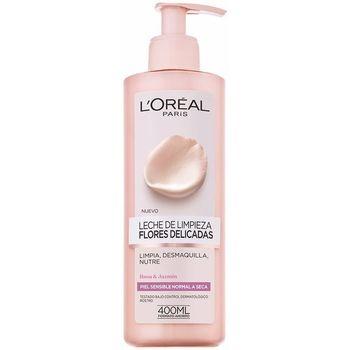 Bellezza Donna Detergenti e struccanti L'oréal Flores Delicadas Leche Piel Sensible  400 ml