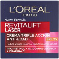 Bellezza Donna Antietà & Antirughe L'oréal Revitalift Laser X3 Crema Día Spf20  50 ml