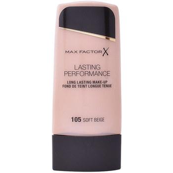 Bellezza Donna Fondotinta & primer Max Factor Lasting Performance Touch Proof 105-soft Beige 35 ml