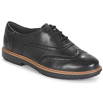 Scarpe Donna Richelieu Clarks RAISIE Black