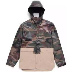 Abbigliamento Uomo Parka Herschel - Giacca Forecast Parca Uomo - Woodland Camo/Incense Multicolore